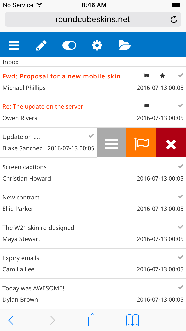 Skin outlook | roundcube plugins, themes & skins.